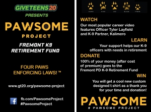 Pawsome Project Card both